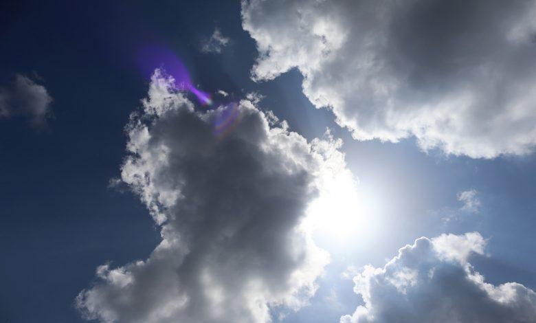 Langit tertutup awan